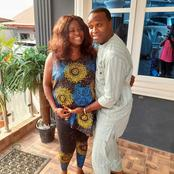 Actress Shared Photos Of Femi Adebayo And His Father, Asked Fans To Guess Who Got Her Pregnant