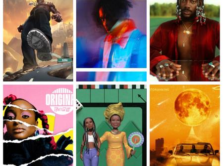 Check Out Six (6) Albums Topping Charts Right Now In Nigeria