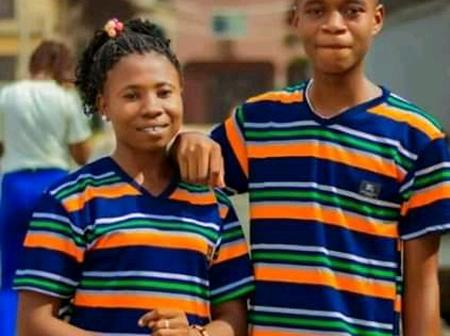 15 Year Old Boy Who Got Married Recently In Abia Releases New Photos With His Love Partner