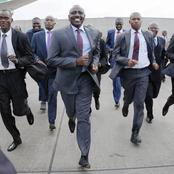 Ruto Mashinani Tour Marred With Chaos as Police Disperse Crowds Of Rowdy Youths