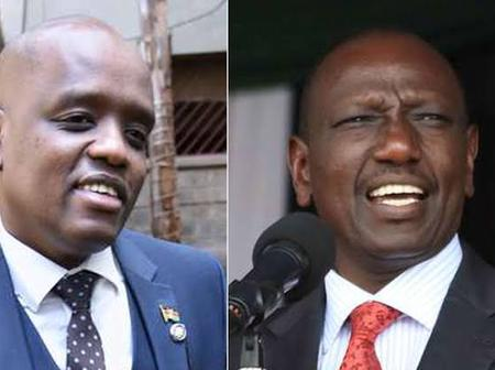 Kenyans React After Itumbi Shared This Photo of The DP Ruto Wearing Classy Shoes