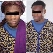 Nigerian Man Disguised As A Woman Arrested In Libya, See The Crime He Committed