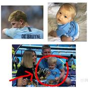Like Father Like Son. See Kevin De Bruyne's First Son Who Is Also Super Blonde Like Him (pictures)