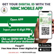 You Can Get Your Digital ID With NIMC App. See The Steps