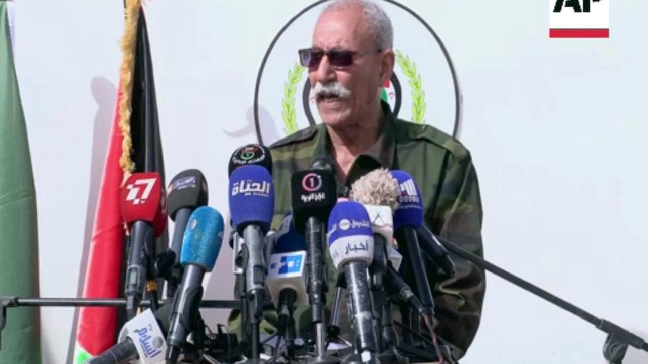 Sahara's Polisario Front chief gets COVID treatment in Spain