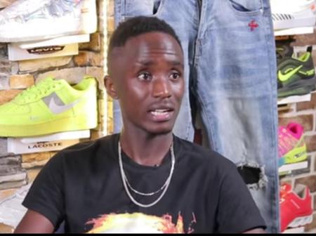 A 22-Year-Old Man Narrates How He Started With Only Three Pairs Of New Shoes, See His Shop Now