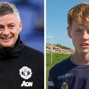 'I always get food' – Check out Noah Solskjaer's salvage reply to Jose Mourinho and Son Heung Min