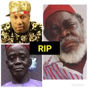 RIP: See Full List Of 5 Prominent Nollywood Actors/Actresses That Died In 2021 (PHOTOS)