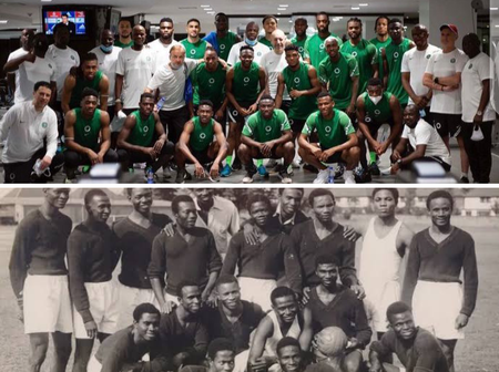 Fact Check: The Super Eagles Are Not The First Nigerian Football Team To Travel For A Major Tournament By Boat