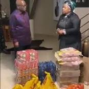 Myeni Donation Criticized as More Tea & Food Donated as More People Visits Zuma