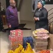 Myeni Donation Criticized as More Tea & Food Donated as More People Visits Zuma