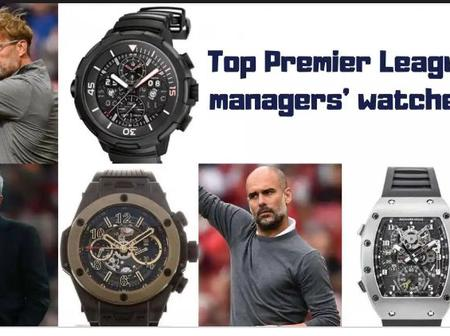 Time Is Money : Top Five (5) Most Expensive Watches Worn By Premier League Coaches. (Pictures)