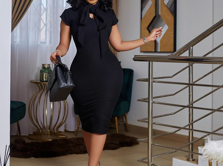 Serwaa Amihere Dazzles In New Photo As She Begins Her Week With Motivational Words.