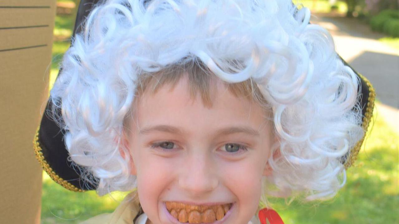 """Watch now: Rogersville students offer a variety of history lessons at annual """"Wax Museum"""""""