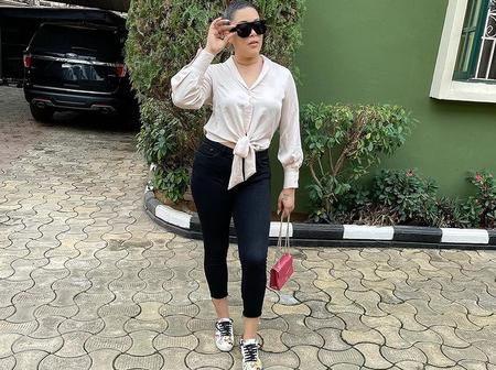 Actress Adunni Ade steps out looking classy