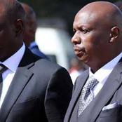 Gideon Moi Makes A Mistake That May End Up Angering President Uhuru Kenyatta