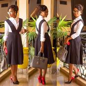 Ladies, Start This New Week With These Lovely Cooperate Outfits