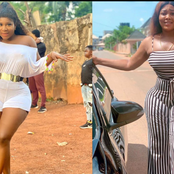 Destiny Ekito's body shape is perfect, but have you seen that of Crystal Okoye? (see photos)
