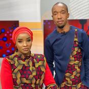 Citizen TV's Rashid Abdallah Helps Wife Tie Watch On Live TV