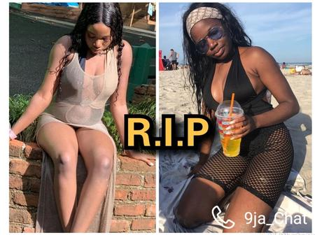 The 24years Old Nigeria Lady Who Was Killed In USA, See Her Photos Enjoying Herself Before Her Death