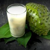 Learn This Method Of Preparing Your Soursop Fruit Juice