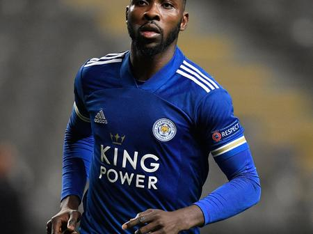 Official; Kelechi Iheanacho has signed a new contract with Leicester City until 2024.