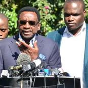 James Orengo Picks War With DP, One Kenya Alliance, Claims Moi's