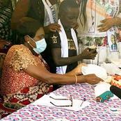 Née le 11 avril 2011, date de l'arrestation du PR Gbagbo, ce petit garçon suscite l'émotion ce jour