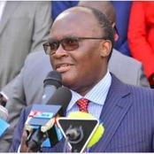Kenyans Angered By CS Macharia Decision Of Gazzetting Three Individuals From One Community To NMS