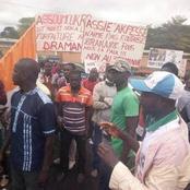 Manifestations contre Ouattara à M'Batto et à Arrah. Le Chef de l'État est-il trahi par le Moronou ?