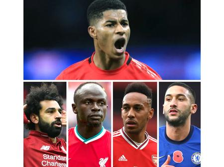 Marcus Rashford makes his choice on Africa's best player in the EPL