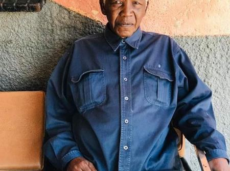 Nelson Mandela died in 2013 but this man looks exactly like him