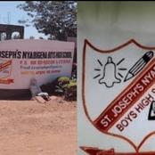 Sorrow And Grief As Nyabigena Boys High School Principal Dies
