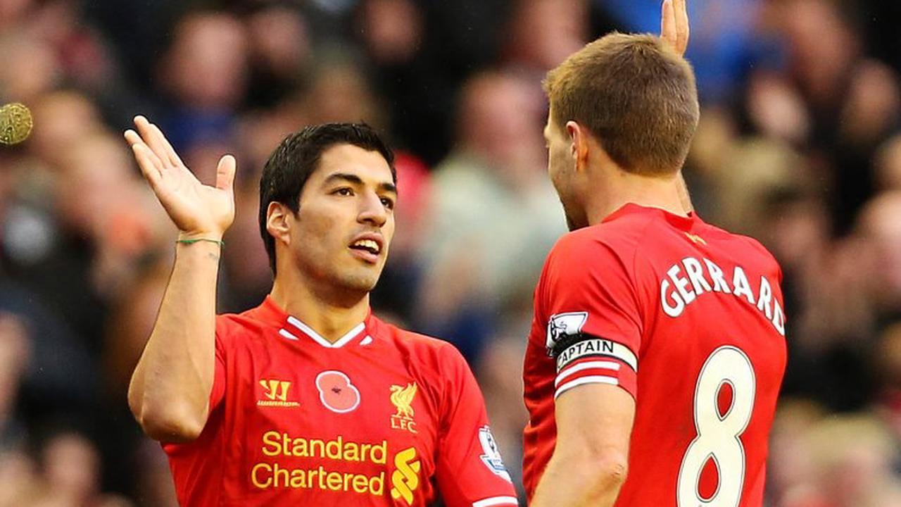 Suarez responds to Gerrard reunion talk