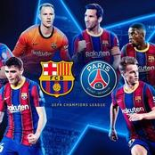 UCL: Double Blow For Barcelona Ahead Of PSG Game Next Week