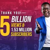 Churchill Show Reach 0.5B Views And 1.53 Subscribers In YouTube, Churchill Appreciates Fans