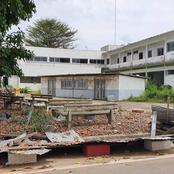 Le service de gynécologie du CHU de Treichville abandonné dans les broussailles