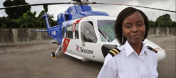 Remembering The Female Pilot That Saved 13 Nigerians From Plane Crash(More Story)