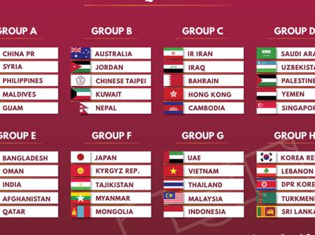World Cup Qualifiers: Chinese Taipei Placed In Group of Death While China PR Got An Easy Group