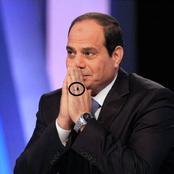 سر الخاتم الذي لا ينزعه الرئيس السيسي من يده