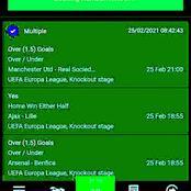 Thursday Seven Must Win Correct Score (CS) Multibet Tips i.e AC Milan, Leicester, Manchester United.