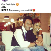 Reactions As Dj Mo Shares TBT Photo Of His First Date With Size 8