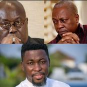 """""""He Is Not Like John Mahama Who Runs Family & Friends Govt""""- Kwame A-Plus Sparks Controversy"""