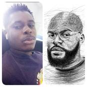 See what Falz said after a talented guy posted this beautiful drawing