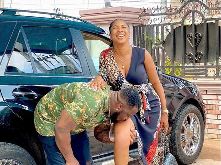 Newly Wedded Actress Shares Lovely Photos With Hubby