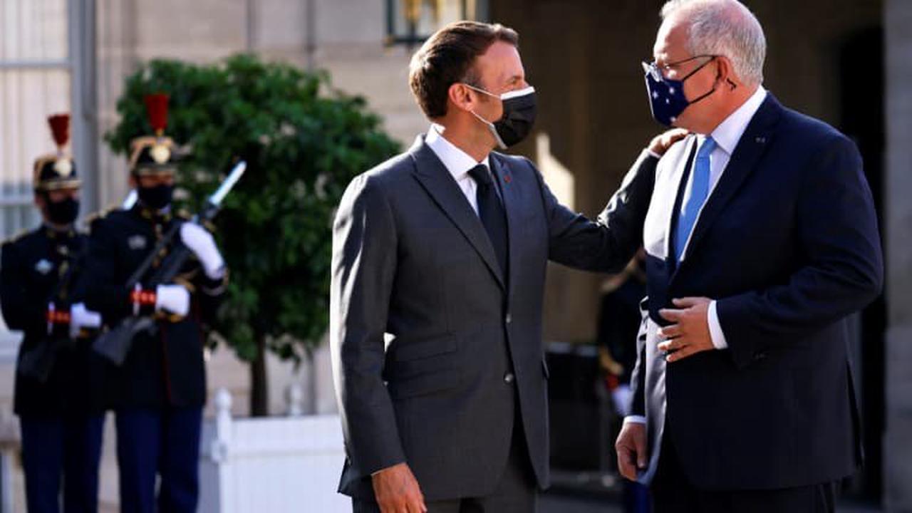 Crise des sous-marins: le Premier ministre australien assure que Macron ne répond pas à ses appels