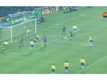 Barcelona vs Brazil in 1999 is surely one of the strangest football matches of all time. What happen