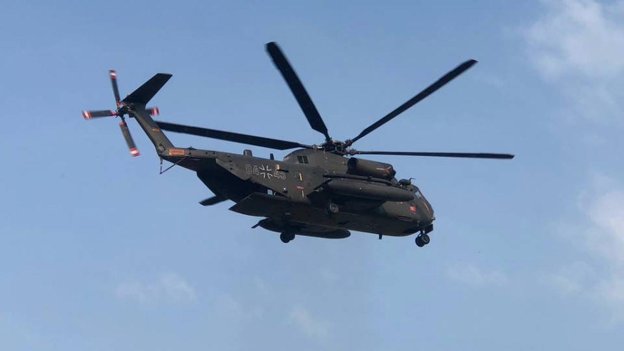 Sondershausen: Militär-Helikopter über Thüringen! Das ist der Grund
