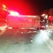 17-year-old boy died in the early hours of the morning when a municipal car crashed into a wall.