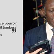Quand Ouattara déclarait sur le territoire français : ''Je frapperai ce pouvoir moribond...